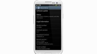 Samsung Galaxy S3: Android 4.2-basierte Firmware XXUFMB3 geleakt