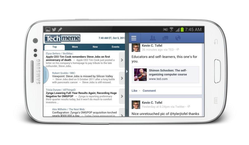Samsung Galaxy S3: Update auf Android 4.1.2 wird Multi-Window-Feature bringen