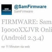 Samsung rollt in der Schweiz Android 2.3.4 für das Galaxy S aus