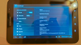 Samsung Galaxy Tab 7: Android Ice Cream Sandwich im Video