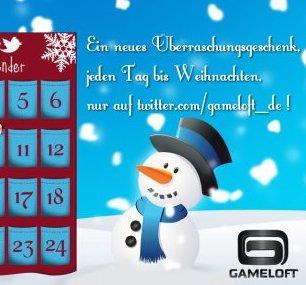 Advent, Advent: Gameloft beschenkt Android-Fans