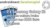 Geburtstags-Gewinnspiel: Drei Samsung Galaxy S3 und weitere tolle Preise zu gewinnen