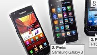 Gewinne eins von 10 Android-Smartphones