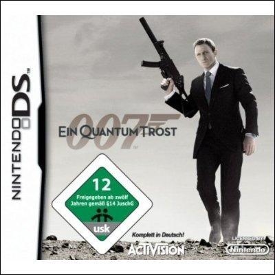 007 Ein Quantum Trost (DS) - Stylus zum Töten