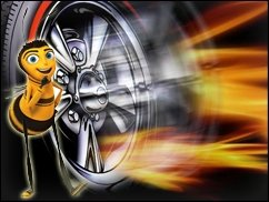 360-Doppel: Hot Wheels &amp&#x3B; Bee Movie