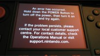 3DS - Nintendo kommentiert Black Screen of Death