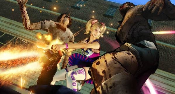 Lollipop Chainsaw: Neuer Trailer zeigt Zombie-Basketball