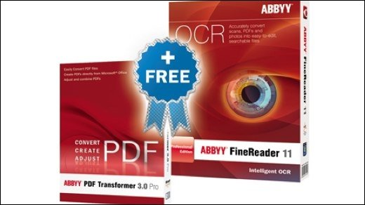 Abbyy FineReader 11 - Abbyy FineReader in neuer Version und mit Gratis-Zugabe