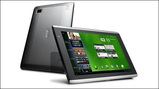 Acer Iconia A500 - Android-Tablet bei Tchibo im Angebot
