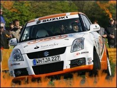 André Villa überzeugt bei Rallye-Debüt