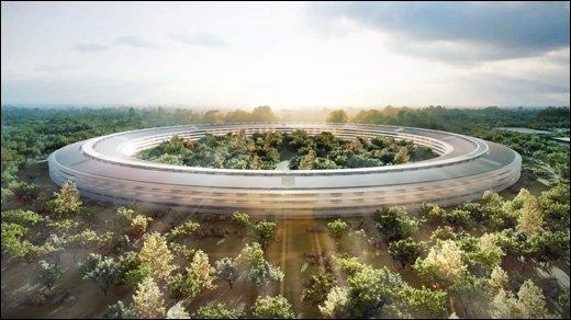 Apples Raumschiff - Neue Bilder des kommenden Campus aufgetaucht