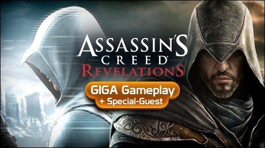 Assassin's Creed: Revelations Gameplay - GIGA Gameplay mit Überraschungsgast