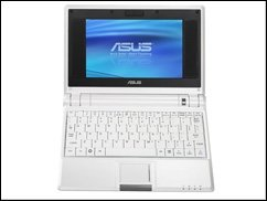 Asus Eee PC auch mit 10-Zoll-Display (Update)