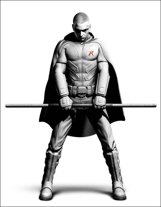 Batman Arkham City Robin