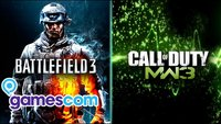 Battlefield 3 vs CoD: Modern Warfare 3 - Gamescom Kurzcheck + Video