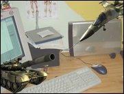 Battlefield Schreibtisch