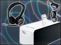 Bei uns gibt's was auf die Ohren: Docks und Kopfhörer für den mobilen Musikgenuss