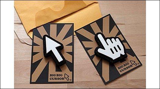 Big Big Cursor - Nie wieder mit dem Finger auf den Touchscreen tippen