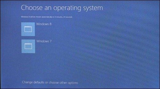 Boot-Sequenz - Schöner Starten mit Windows 8