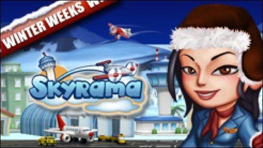 Browsergame - Winter-Wochen auch bei Skyrama