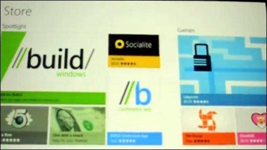 BUILD - Video: Windows 8 App-Store en detail vorgestellt