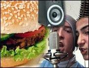 Burger-Rap bei GIGA green