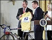 Bush bald bei der Tour de France?