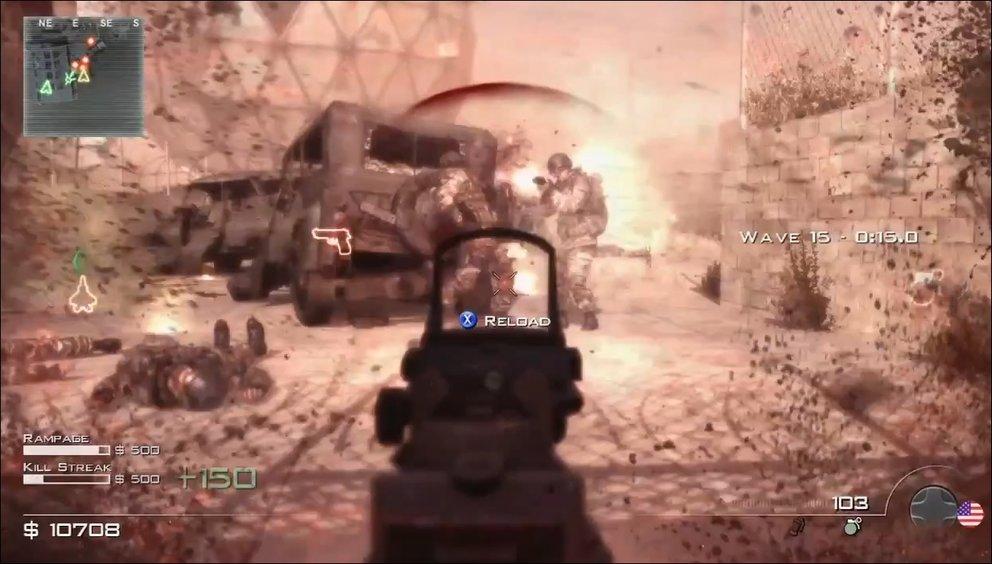 Call of Duty: Modern Warfare 3 - Trailer zeigt den Spec Ops Modus