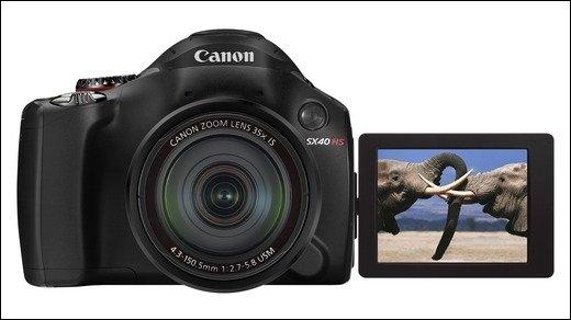 Canon Powershot SX40 HS - Neue Bridge-Kamera mit 35-fachem Zoom