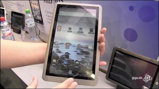 Coby - Günstige Android-Tablets in allen Größen