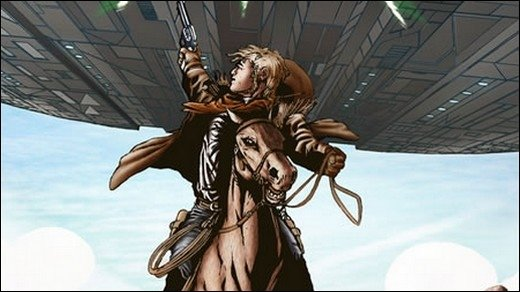 Cowboys &amp&#x3B; Aliens: Das Comic - Interview mit Scott Rosenberg