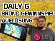 Daily G vom 16.07. - Auflösung - Brüno Gewinnspiel Aktion!
