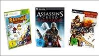 Deals - HitFox feiert 25 Jahre Ubisoft: Assassins Creed und Rayman Origins im Angebot