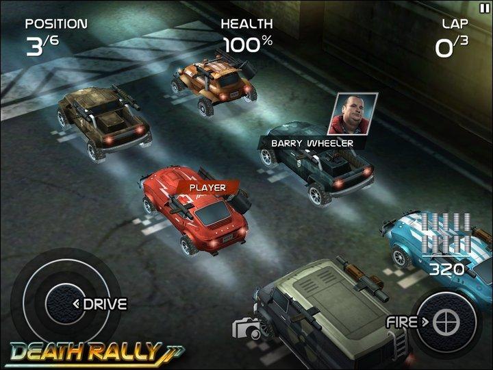 Death Rally: iOS Racer für 24 Stunden kostenlos