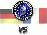 Deutschland gegen Frankreich im ENC - 20:00 Deutschland gegen Frankreich im ENC