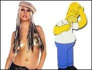 Dirrrty X-Tina erteilt Homer Simpson eine Absage!
