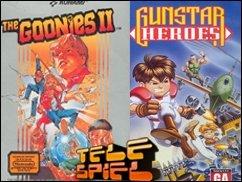Doppelter Spaß mit zwei Perlen: Gunstar Heroes und Goonies 2