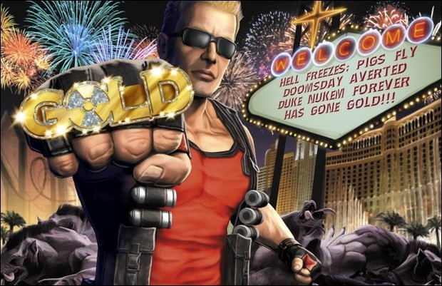 Duke Nukem Forever - Duke goes Gold