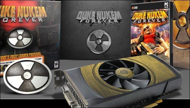 Duke Nukem Forever - Fully Loaded Edition kommt mit Grafikkarte