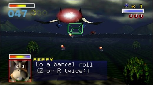 Do A Barrel Roll Star Fox 64