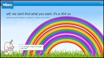 Error 404 - Auf nette Art und Weise sagen, das etwas nicht funktioniert