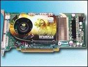 Erste 512 MB GeForce Grafikkarte von Sparkle