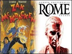 Europa Universalis: Rome und Zak McKracken