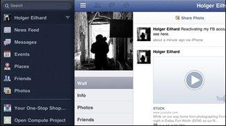 Facebook - iPad-App soll auf dem iPhone-Event vorgestellt werden