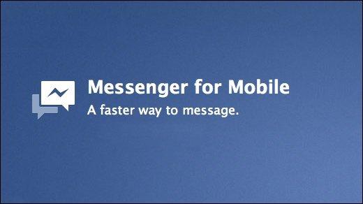 Facebook Messenger: Auf Nimmerwiedersehen SMS