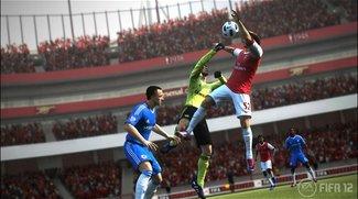 FIFA 12 - EA: Verkaufszahlen 25 mal höher als bei PES