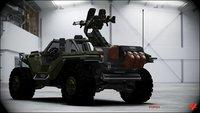 Forza Motorsport 4 - Halos Warthog ist mit dabei
