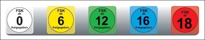 FSK-Kennzeichen - Neues, größeres Design