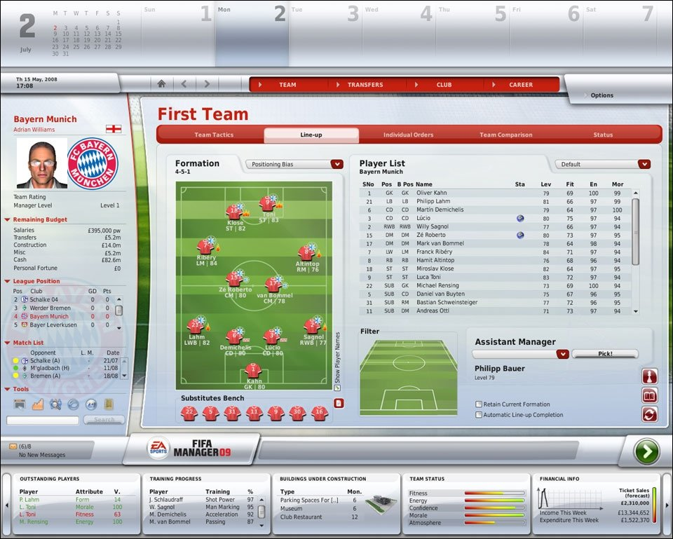 Fussbal Manager 09 - Entwickler in the House