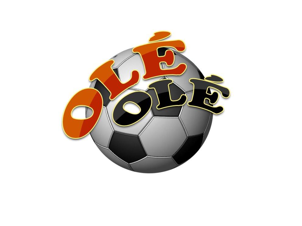 Fußball ist unser Leben ...schalala schalala...olé olé!